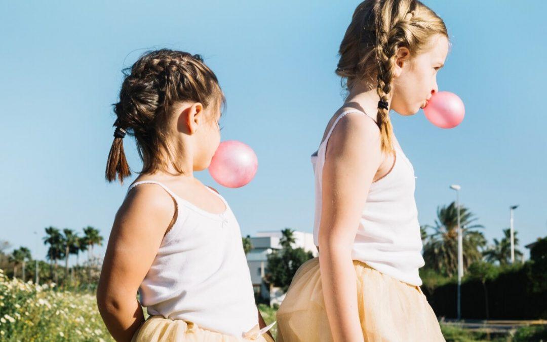 Consecuencias de comer chicle en niños