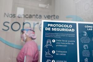 Información del protocolo en recepción